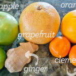 Recipe Box: Green Apple, Ginger + Citrus Juice