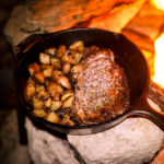 Campfire Recipes: Skillet Steak & Potatoes
